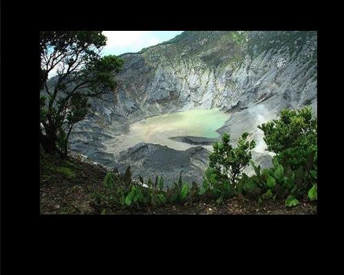 kawah pegunungan bandung